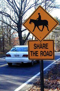 Share the Road sign 2 small