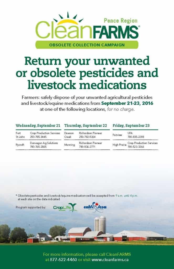 CleanFARMS Obsolete Pesticides Poster (PR) 2016
